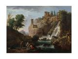 Les cascatelles de Tivoli Giclee Print by Joseph Vernet