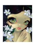 Poisonous Beauties II: White Oleander Photographic Print by Jasmine Becket-Griffith