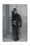 Gringoire, Illustration pour Notre-Dame de Paris de Victor Hugo Giclee Print by Gustave Brion