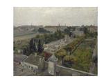 Le cimetière de Picpus et le champ des Martyrs Giclee Print by Victor Marec