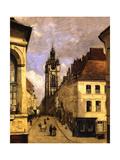 Le beffroi de Douai Giclee Print by Jean-Baptiste-Camille Corot