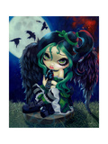 Perched and Sat and Nothing More Photographic Print by Jasmine Becket-Griffith