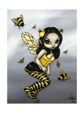 Bumblebee Fairy Photographic Print by Jasmine Becket-Griffith
