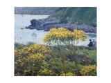 Ombrelle jaune Giclee Print by Louis Welden Hawkins