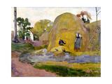 Les meules jaunes Giclee Print by Paul Gauguin