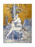 Allégorie du temps Giclee Print by Luc-olivier Merson