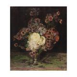 Bouquet de fleurs Giclee Print by Jacques-emile Blanche