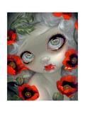 Poisonous Beauties III: Opium Poppy Lámina fotográfica por Jasmine Becket-Griffith