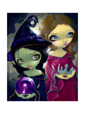 Wicked Witch and Glinda Photographic Print by Jasmine Becket-Griffith