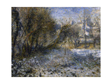 Paysage de neige Giclee Print by Pierre-Auguste Renoir