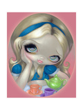 Alices Tea Party Photographic Print by Jasmine Becket-Griffith