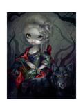 Once Upon a Midnight Dreary Photographie par Jasmine Becket-Griffith