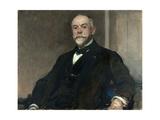 Portrait de Léon Pissard âgé Giclee Print by Jacques-emile Blanche