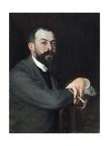 Portrait de Léon Pissard Giclee Print by Jacques-emile Blanche