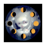 Moon Phases Photographic Print by Jasmine Becket-Griffith