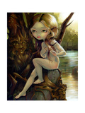 Hamadryad Lake Photographic Print by Jasmine Becket-Griffith