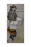 La Parisienne Giclee Print by Jean-Louis Forain