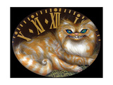 Cheshire Clock Photographic Print by Jasmine Becket-Griffith