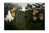 Le repas du lion Giclee Print by Henri Rousseau