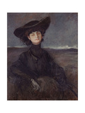 La Comtesse Anna de Noailles (1876-1933), poétesse française Giclee Print by Jean-Louis Forain