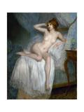 Au réveil Giclee Print by Pierre Carrier-belleuse