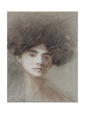 Portrait de Madame Henri de Régnier, née Marie de Hérédia Giclee Print by Jean-Louis Forain