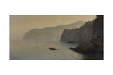 Sorrente, falaises grises Giclee Print by Henry Brokman