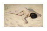 Sur le sable de la dune Giclee Print by Pierre Carrier-belleuse