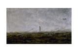 Le Rêve, Paris incendié Giclee Print by Jean-Baptiste-Camille Corot