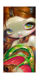 Tail of Mossy Gold Photographic Print by Jasmine Becket-Griffith
