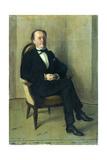 Portrait de John Lemoinne Giclee Print by Jacques-emile Blanche