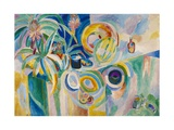 Symphonie colorée Giclee Print by Robert Delaunay