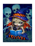 Skeleton Magic Photographic Print by Jasmine Becket-Griffith
