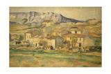 La Sainte-Victoire Giclee Print by Paul Cézanne