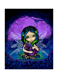 Dragonling Garden II Photographic Print by Jasmine Becket-Griffith