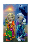 Sun Child and Moon Child Photographic Print by Jasmine Becket-Griffith