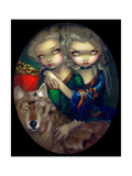 Loup-Garou: Les Jumeaux Photographic Print by Jasmine Becket-Griffith