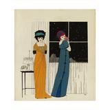 Les Robes de Paul Poiret racontées par Paul Iribe, Paris, 1908 Giclee Print by Paul Iribe