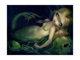 Absinthe Mermaid Papier Photo par Jasmine Becket-Griffith