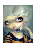 Portrait with a Spiderling Photographic Print by Jasmine Becket-Griffith