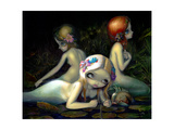 Water Elementals Photographic Print by Jasmine Becket-Griffith