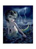 Storm Chaser Photographic Print by Jasmine Becket-Griffith