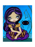 Little Miss Muffet Photographic Print by Jasmine Becket-Griffith