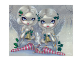 The Holly and the Ivy Stampa fotografica di Jasmine Becket-Griffith
