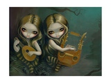 Lute and Lyre Print by Jasmine Becket-Griffith