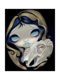 White Rabbit Resurrected Photographic Print by Jasmine Becket-Griffith