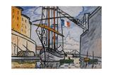Port de Marseille (canal Saint-Jean), 1920 Giclee Print by Louis-Mathieu Verdilhan