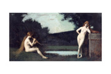 Eglogue Giclee Print by Jean-Jacques Henner