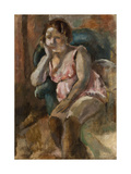 Marcelle Giclee Print by Jules Pascin