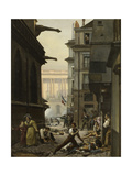 Épisode du 29 juillet 1830, au matin Giclee Print by Paul Carpentier
